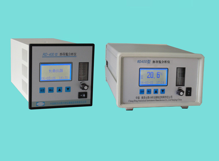 RD-400 thermal conductivity of hydrogen analyzer